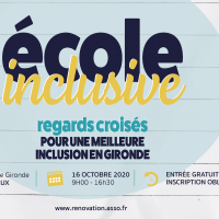 (ANNULÉE) CONFÉRENCE – ÉCOLE INCLUSIVE : REGARDS CROISÉS POUR UNE MEILLEURE INCLUSION EN GIRONDE