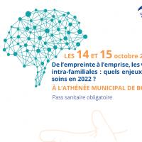 CONGRÈS DE PSYCHOTRAUMATOLOGIE / 14 & 15 OCTOBRE 2021