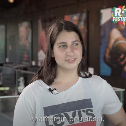 R'FESTIF 2021, INTERVIEW CÉCILIA