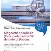 Diagnostic : parrhêsia (franc-parler) et conflit des interprétations