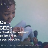 Lancement de la concertation sur la protection de l'enfance
