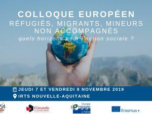 Colloque : Réfugiés, migrants, mineurs non accompagnés : quels horizons pour l'action sociale ?