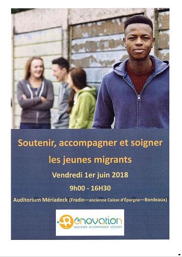 Conférence : Soutenir, accompagner et soigner les jeunes migrants